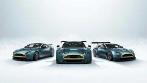 Aston Martin Vantage Legacy Collection: Un genial trío de Vantage de carreras