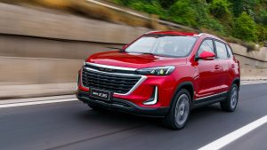 BAIC X35 2021: La SUV china recibe un radical facelift