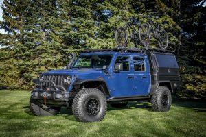 Jeep Gladiator Top Dog Concept: Para los amantes de la aventura en bicicleta.