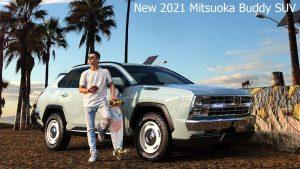 Mitsuoka Buddy 2021: Un Toyota RAV4 con toques de Chevrolet de los 80.