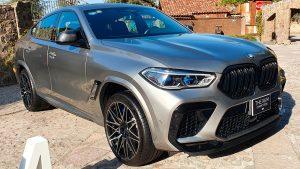 BMW X6 M Competition 2021: una SUV con un salvaje motor V8 con 625 Hp.
