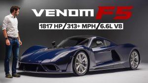 Hennessey  Venom F5: Lista la versión definitiva