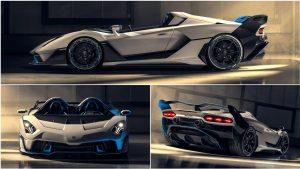 Lamborghini SC20: Un One-off  atractivo y radical