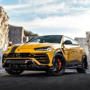 Lamborghini Urus By Manhart Performance: !! 812 CV !!