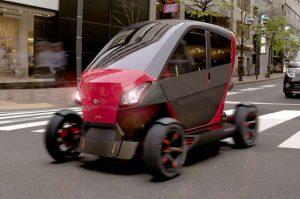 City Transformer CT-1: Un pequeño urbano plegable y eléctrico