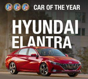 El Hyundai Elantra es el North American Car of the Year 2021