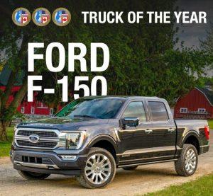 Ford F-150 es reconocida con el North American Truck of the Year 2021