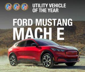 El Ford Mustang Mach-E es nombrado North American Utility of the Year 2021