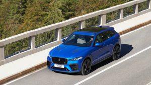 Jaguar F-Pace SVR 2021: Una actualización con importantes mejoras