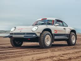 Singer All-Terrain Competition Study: Un Porsche 911 para el Dakar