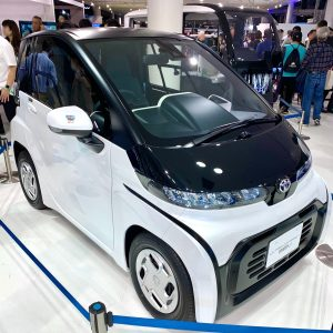 Toyota C+Pod: Un nuevo miniauto eléctrico con 150 km de autonomía.
