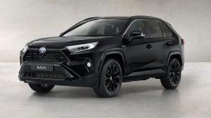 Toyota RAV4 Hybrid Black Edition 2021: Edición exclusiva en color negro cosmo