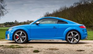 Audi TTS Coupé 2021: Atractivo y agresivo