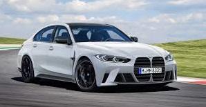 BMW M3 2021: Poderoso y dinámico.