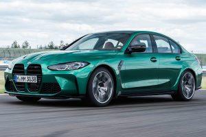 BMW M3 Competition 2021: 510 CV, cambio automático y propulsión trasera.