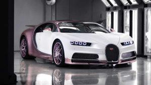 Bugatti Chiron Alice: El regalo de San Valentín para una esposa