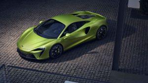 McLaren Artura: el primer plug-in hybrid de la marca.