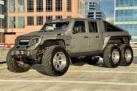 Apocalypse Hellfire 6X6: Un Jeep Gladiator superpoderoso