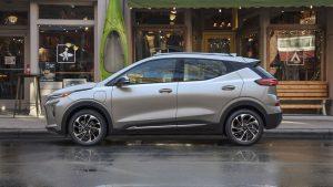 Chevrolet EUV 2022: Una SUV eléctrica con 204 CV y 402 km de autonomía.