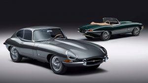 Jaguar E-Type 60 Collection: 12 unidades para celebrar el 60 aniversario.