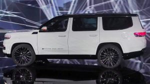 Jeep Grand Wagoneer 2022: El Jeep más lujoso jamás fabricado.
