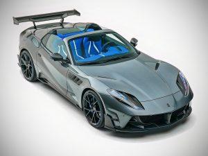 Mansory Stallone GTS: Un Ferrari 812 GTS con más poder y mejor aerodinámica