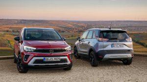 Opel Crossland 2021:  Sin la ''X'' y con una  nueva identidad visual.