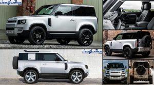 Land Rover Defender 90 2021: Más pequeño pero igual de poderoso
