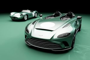 Aston Martin V12 Speedster tributo al mítico DBR1