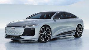 Audi A6 e-Tron Concept: Un carro eléctrico con más de 700 km de autonomía.