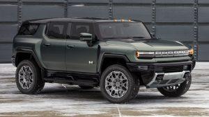 GMC Hummer EV SUV 2024: Músculos y más de 800 Hp.