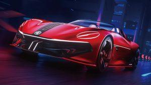 MG Cyberster Concept: Un superdeportivo eléctrico muy futurista