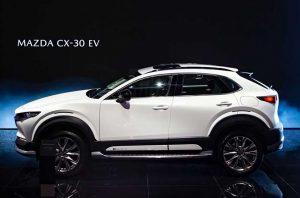Salón de Shanghai 2021: Mazda CX-30 EV, el primer eléctrico de la firma