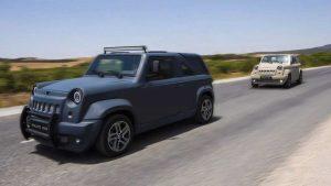 Wallys Iris: Desde Túnez llega una SUV de fibra de vidrio y bajo precio.