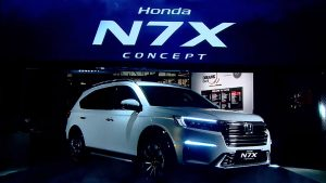 Honda N7X Concept: Una futura SUV con cara de Monovolumen de siete puestos