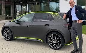 Volkswagen ID.X Concept: El carro eléctrico más potente de la marca