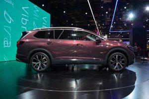 Volkswagen Talagon: A la China llega una SUV de tres filas de asientos.