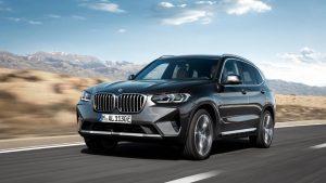 BMW X3 2021: Nuevo diseño y nuevos motores.