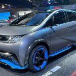 BYD AE-1: Un pequeño carro eléctrico que apuesta por su gran autonomía.