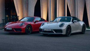 Porsche 911 Carrera GTS y 911 Targa 4 GTS 2022: 473 CV en formato Coupé, Cabrio y Targa