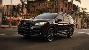 Subaru Ascent Onyx Edition: Más negro y más llamativo