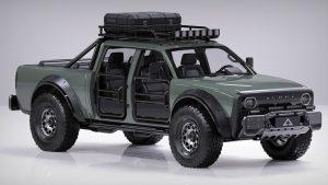 Alpha SuperWolf: Una muy especial pickup doble cabina eléctrica