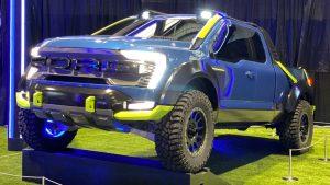 Ford F-150 Rocket League Edition: Una SUV del mundo virtual al real
