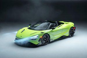 McLaren 765LT Spider: 755 Hp para disfrutar a cielo abierto.
