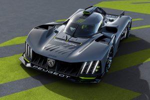 Peugeot 9X8 Hypercar: El bólido de Peugeot Sport para Le Mans
