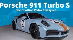 Porsche 911 Turbo S Edición Pedro Rodríguez: Único en su clase.