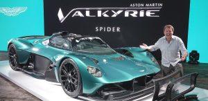 Aston Martin Valkyrie Spider: Exclusividad y más de 1,000 CV.