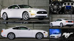Ford Mustang Ice White Edition: Un homenaje en color blanco