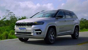 Jeep Commander 2022: Lista la nueva SUV de 7 asientos