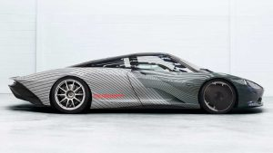 "McLaren Speedtail ""Albert"": Con una pintura altamente especial"